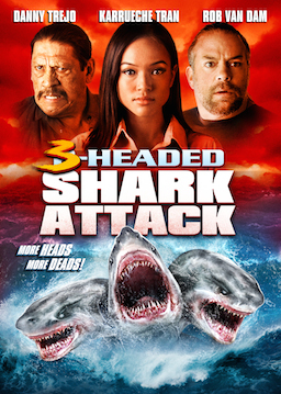 3-HEADED SHARK ATTACK Movie Poster