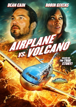 AIRPLANE VS. VOLCANO Movie Poster