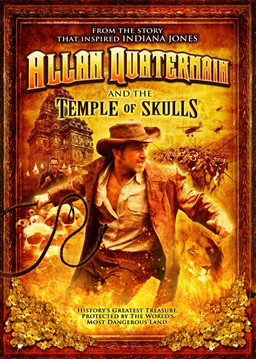 ALLAN QUATERMAIN AND THE TEMPLE OF SKULLS Movie Poster