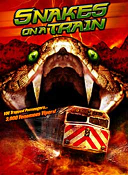 SNAKES ON A TRAIN Movie Poster